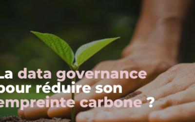 La data governance pour réduire son empreinte carbone ?
